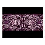 Abstract ARTs - mini Kaleidoscope 4 Post Card