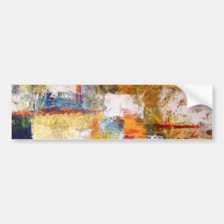 Abstract Artwork Bumper Sticker
