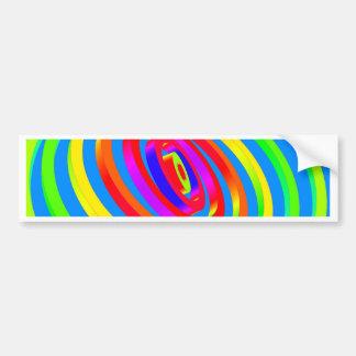Abstract Artwork Bumper Sticker