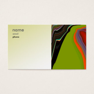 Abstract Artwork Business Card