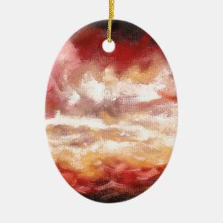 Abstract Artwork Ceramic Ornament