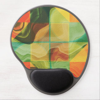 Abstract artwork gel mouse pad