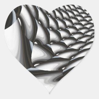 Abstract Artwork Heart Sticker