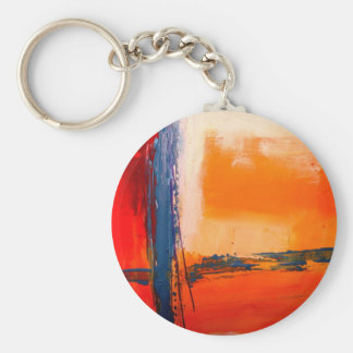 Abstract Artwork Keychain