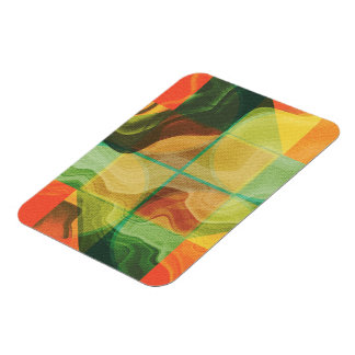 Abstract artwork magnet