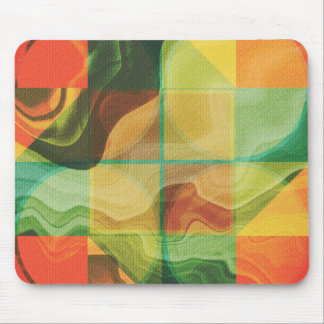 Abstract artwork mouse pad