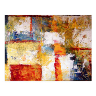 Abstract Artwork Postcard