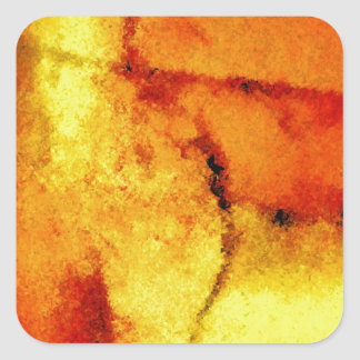 Abstract Artwork Square Sticker