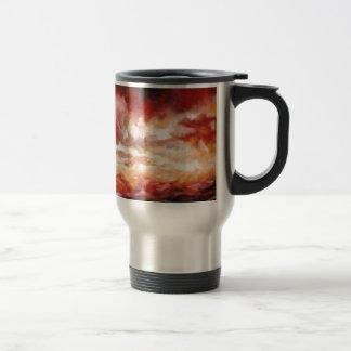 Abstract Artwork Travel Mug