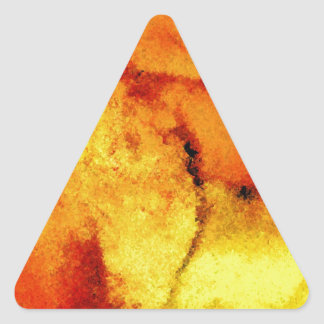 Abstract Artwork Triangle Sticker