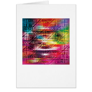 Abstract Arty Greetings Card - TV Themed