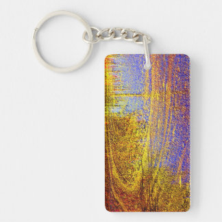 Abstract Atmosphere Keychain