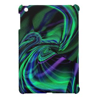 Abstract Aurora Borealis iPad Mini case