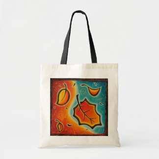 Abstract Autumn Bag