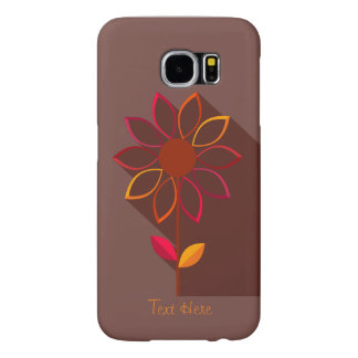 Abstract Autumn Flower Samsung Galaxy S 6 case