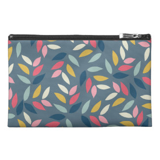 Abstract Autumn Inspired Leaves Pattern Travel Accessory Bag