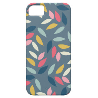 Abstract Autumn Inspired Leaves Pattern iPhone 5 Cases
