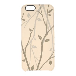 Abstract Autumn Leaves Uncommon Clearly™ Deflector iPhone 6 Case