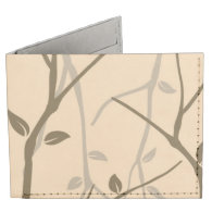 Abstract Autumn Leaves Tyvek Wallet