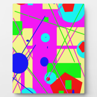ABSTRACT AWESOME DESIGN PHOTO PLAQUE