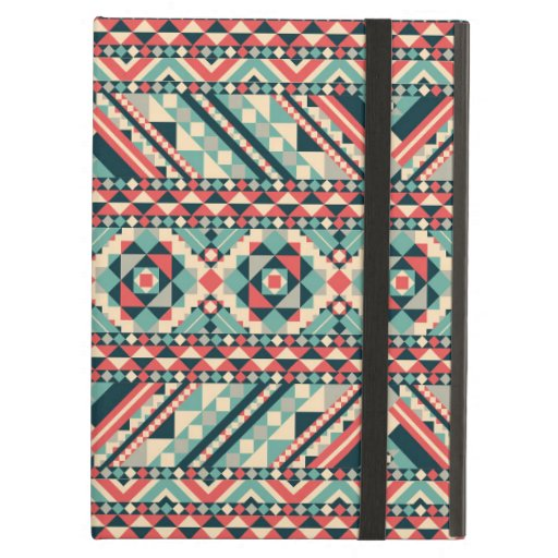 Abstract Aztec Pattern iPad Air Cases