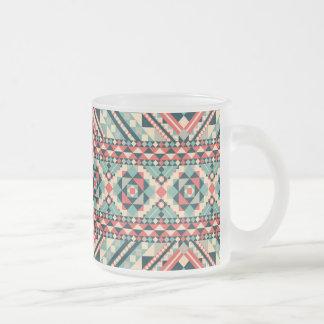 Abstract Aztec Pattern Coffee Mug