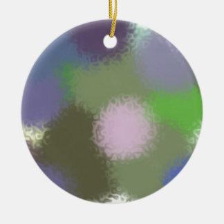 Abstract B Version 2 Ceramic Ornament