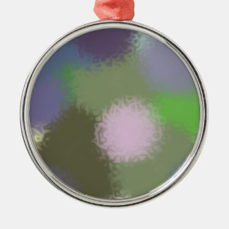 Abstract B Version 2 Metal Ornament