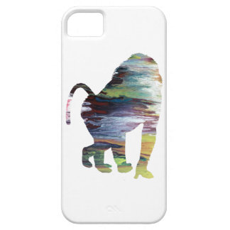 Abstract Baboon Silhouette. iPhone SE/5/5s Case