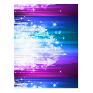 Abstract Background Arrows Vector Art Post Card