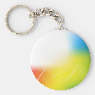 Abstract Background Basic Round Button Keychain