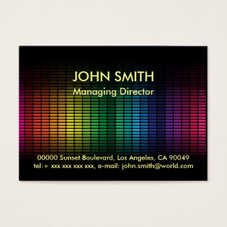 Abstract Background Business Card