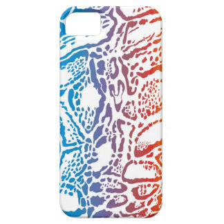 Abstract background clouded leopard iPhone 5 cases