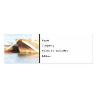 Abstract Background - De-focused Boats Business Card Templates