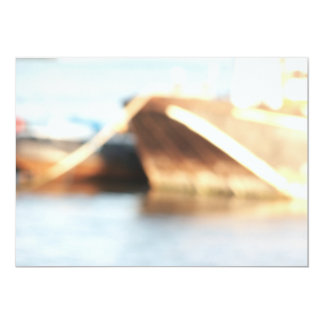 Abstract Background - De-focused Boats. Card