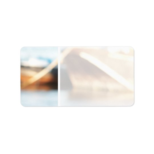 Abstract Background - De-focused Boats. Label