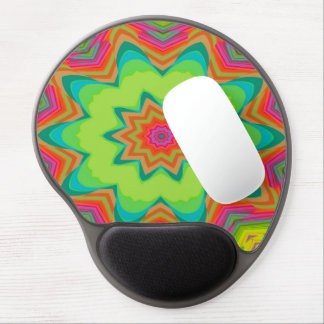 Abstract Background Green Colorful Gel Mouse Pad