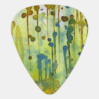 abstract background guitar pick