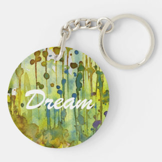 abstract background key chain