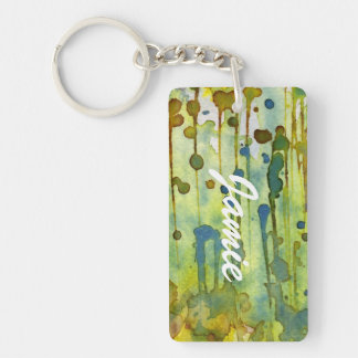 abstract background keychain