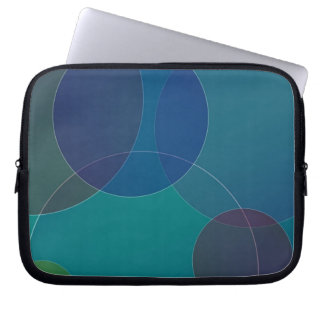 Abstract background laptop sleeve