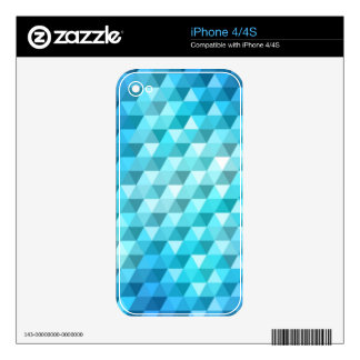 Abstract background made of mosaic pattern iPhone 4 decal