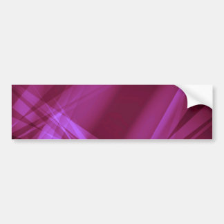 Abstract-Background MAGENTA PINKS DIGITAL RANDOM R Bumper Sticker