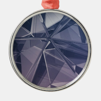 Abstract background metal ornament