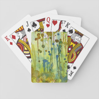 abstract background deck of cards