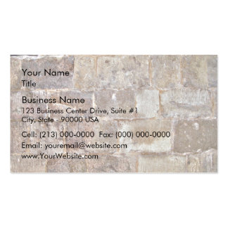 Abstract Background Of Dry Stone Wall Business Card