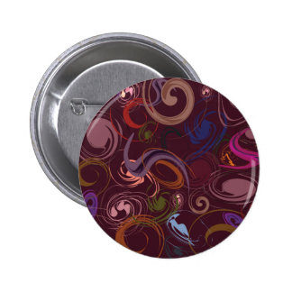 Abstract background pinback button