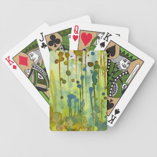 abstract background card decks
