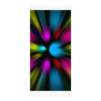 Abstract Background Custom Rack Cards