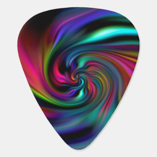 Abstract Background Spirals soft II Guitar Pick